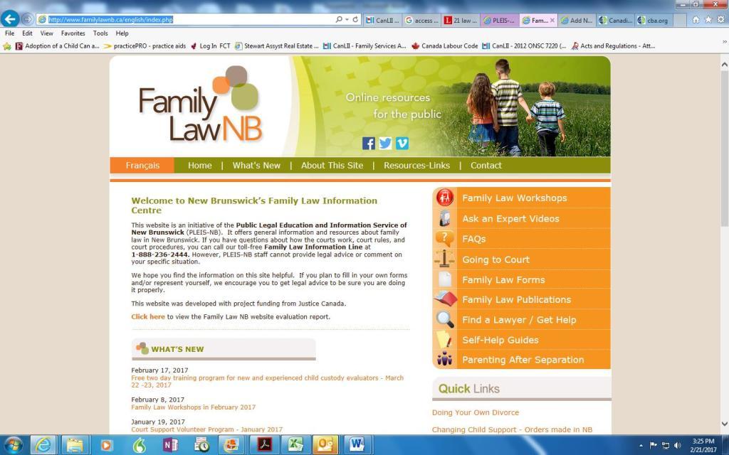 PLEIS Family Law